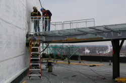 Helicopter pad installation