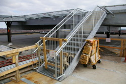 Stairs fabricated and installed