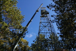 Fire tower install