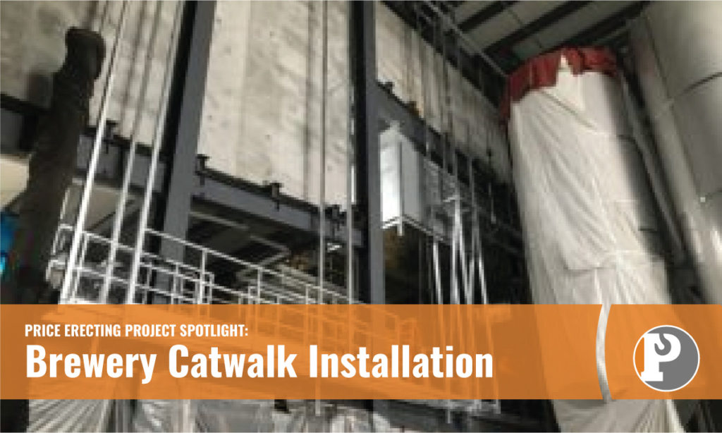 Brewery Catwalk Installation